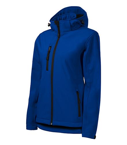 Performance softshellová bunda dámská královská modrá