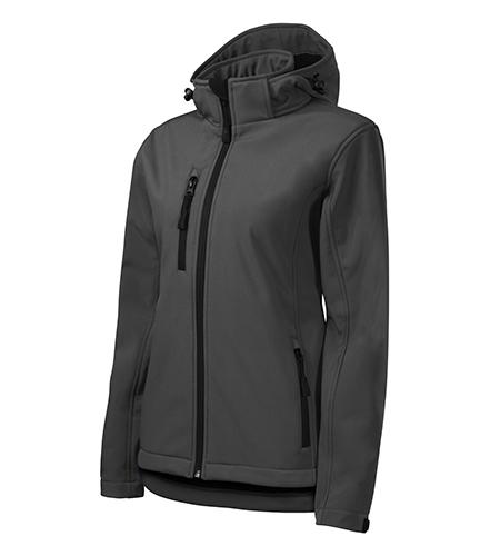 Performance softshellová bunda dámská ocelově šedá
