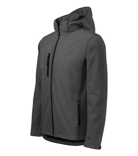 Performance softshellová bunda pánská ocelově šedá
