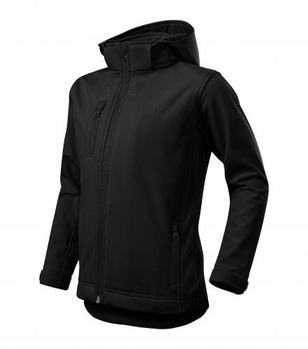 Performance softshellová bunda dětská černá