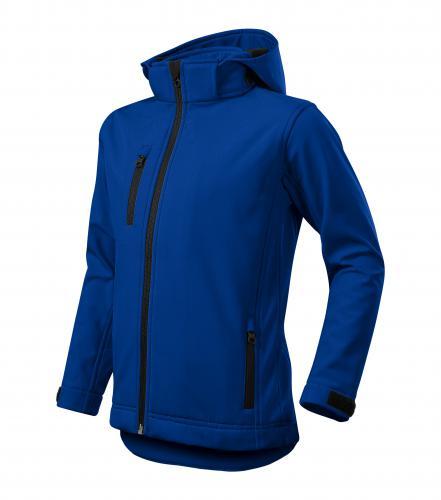 Performance softshellová bunda dětská královská modrá