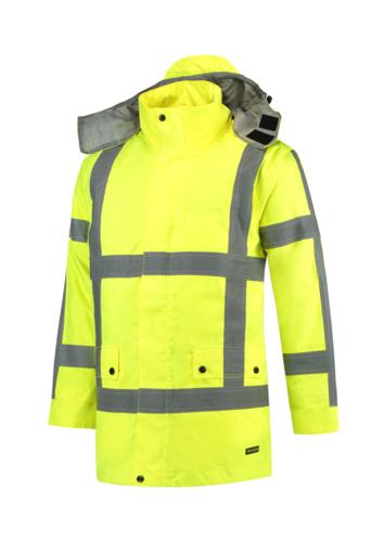 RWS Parka pracovní bunda unisex fluorescenční žlutá