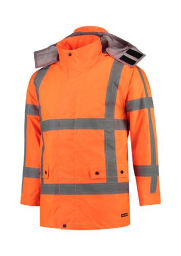 RWS Parka pracovní bunda unisex fluorescenční oranžová