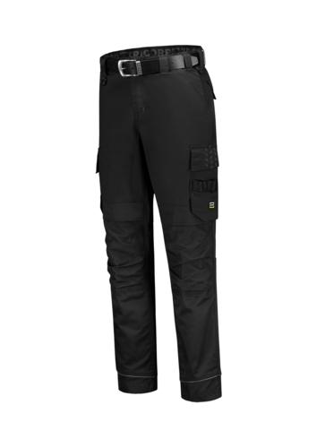 Work Pants Twill Cordura Stretch pracovní kalhoty unisex černá