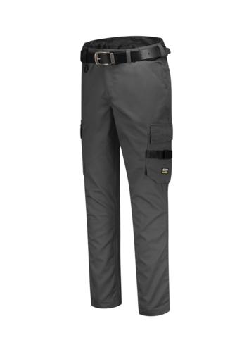 Work Pants Twill pracovní kalhoty unisex tmavě šedá