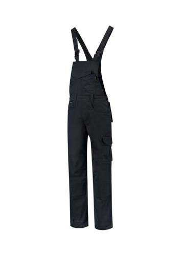 Dungaree Overall Industrial pracovní kalhoty s laclem unisex námořní modrá