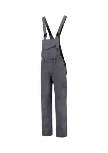 Dungaree Overall Industrial pracovní kalhoty s laclem unisex convoy gray