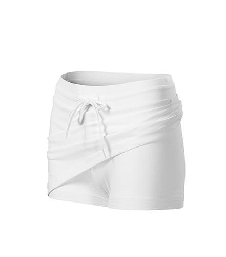 Two in one sukně dámská bílá