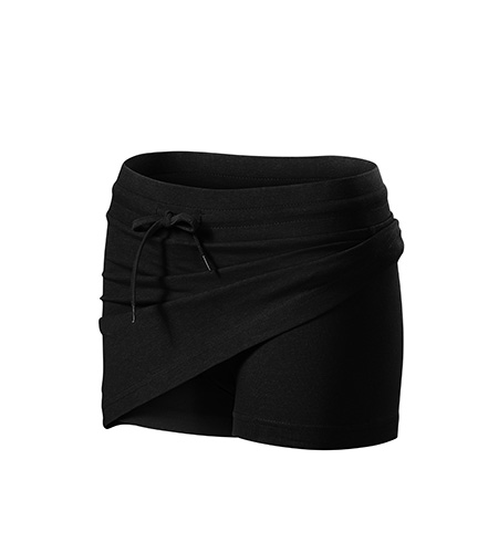 Two in one sukně dámská černá