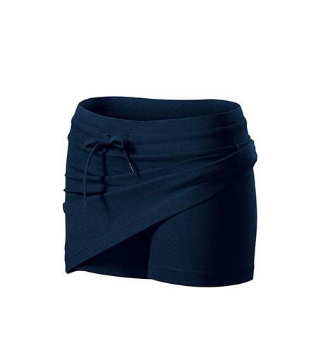 Two in one sukně dámská námořní modrá