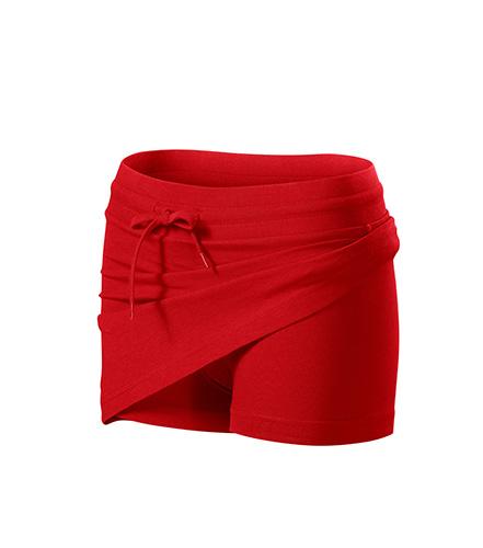 Two in one sukně dámská červená