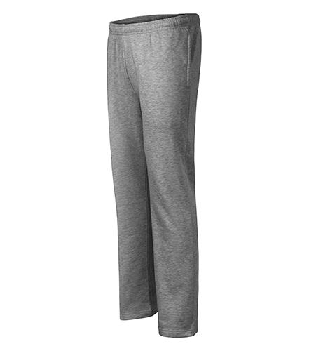 Comfort tepláky pánské/dětské tmavě šedý melír
