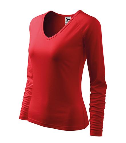Elegance triko dámské červená