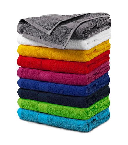 Terry Towel ručník unisex žlutá