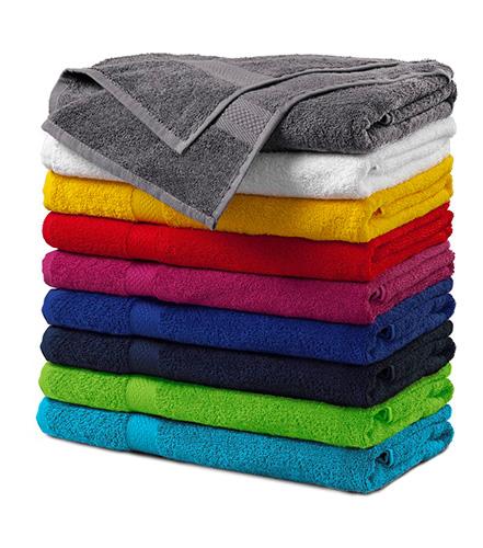 Terry Bath Towel osuška unisex starostříbrná