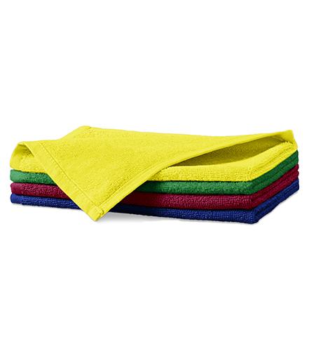 Terry Hand Towel malý ručník unisex středně zelená