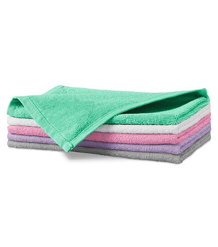 Terry Hand Towel malý ručník unisex světle šedá