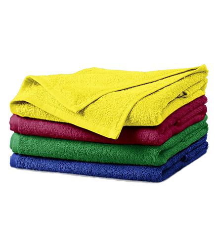 Terry Towel ručník unisex středně zelená