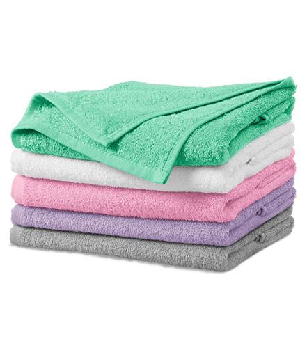 Terry Towel ručník unisex světle šedá