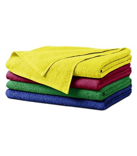 Terry Bath Towel osuška unisex středně zelená