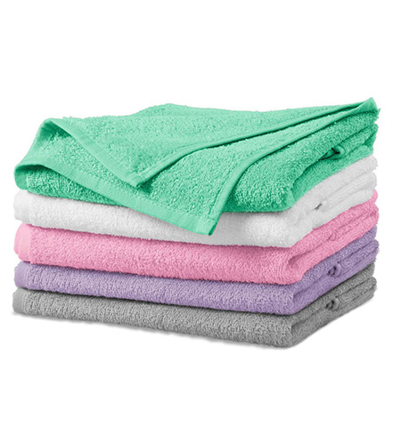 Terry Bath Towel osuška unisex světle šedá