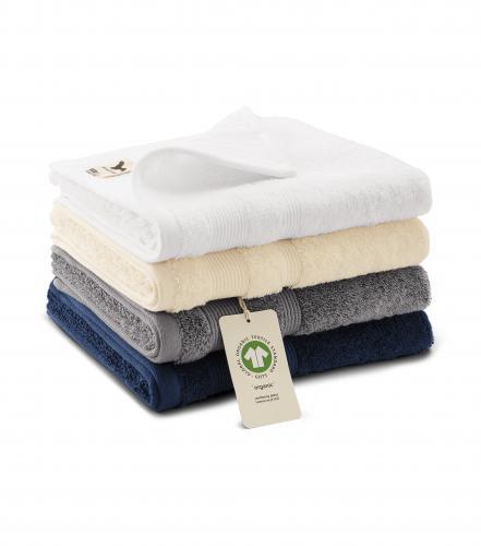 Organic ručník unisex bílá