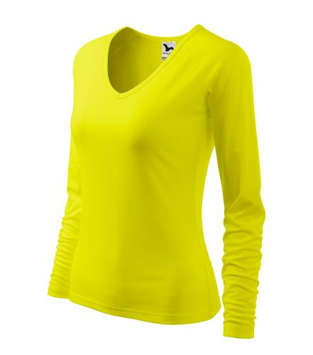 Elegance triko dámské citronová