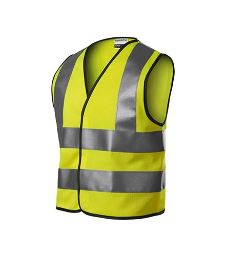 HV Bright bezpečnostní vesta dětská fluorescenční žlutá