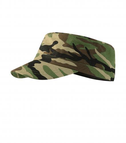 Camo Latino čepice unisex camouflage brown