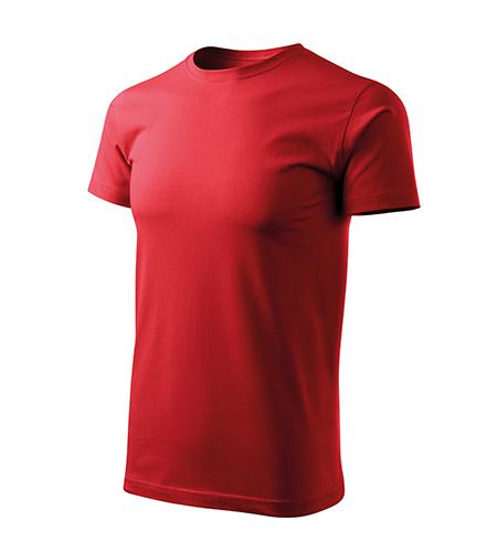 Basic Free tričko pánské červená