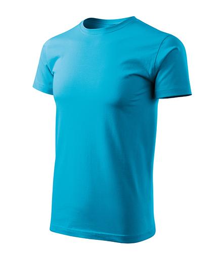 Basic Free tričko pánské tyrkysová