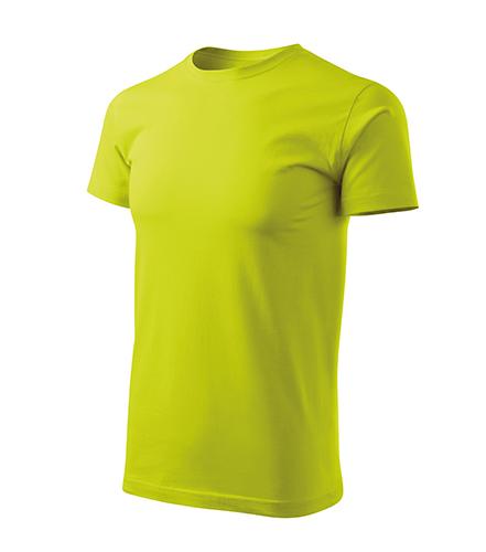 Basic Free tričko pánské limetková