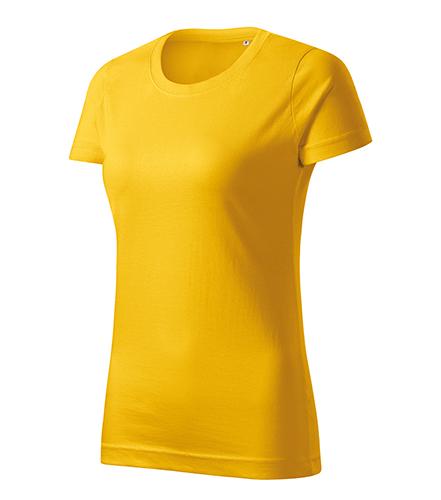 Basic Free tričko dámské žlutá