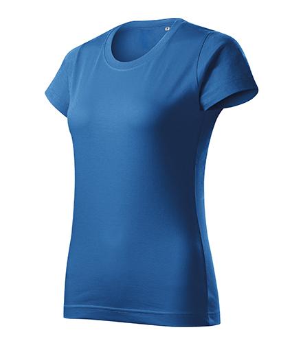Basic Free tričko dámské azurově modrá
