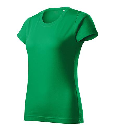Basic Free tričko dámské středně zelená