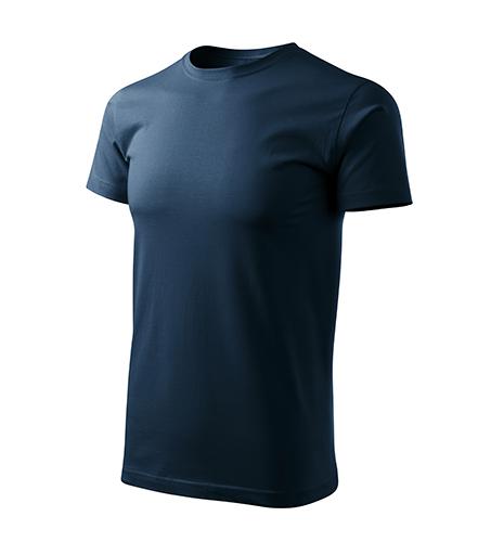 Heavy New Free tričko unisex námořní modrá