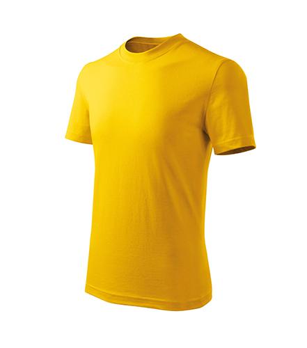 Basic Free tričko dětské žlutá