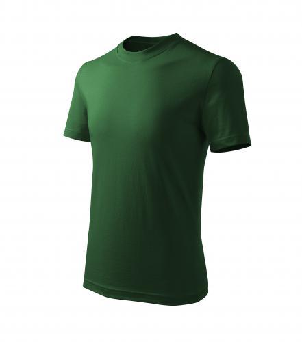 Basic Free tričko dětské lahvově zelená