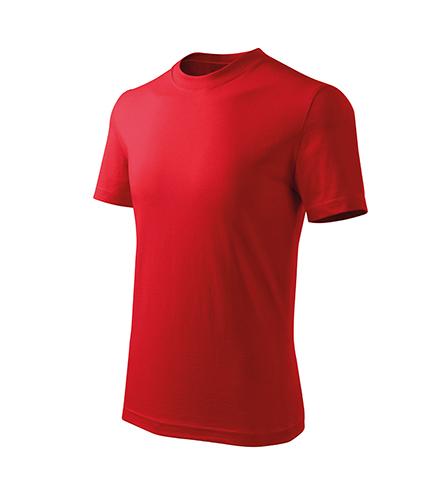 Basic Free tričko dětské červená
