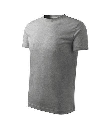 Basic Free tričko dětské tmavě šedý melír