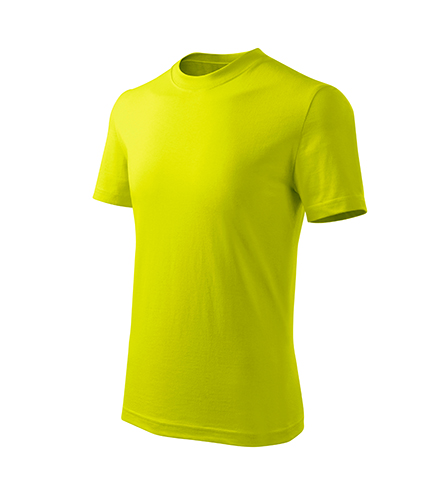 Basic Free tričko dětské limetková