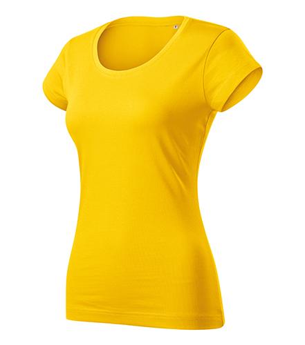Viper Free tričko dámské žlutá