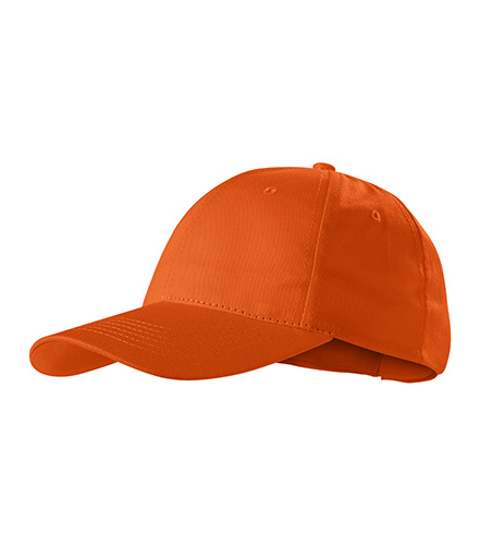 Sunshine čepice unisex oranžová
