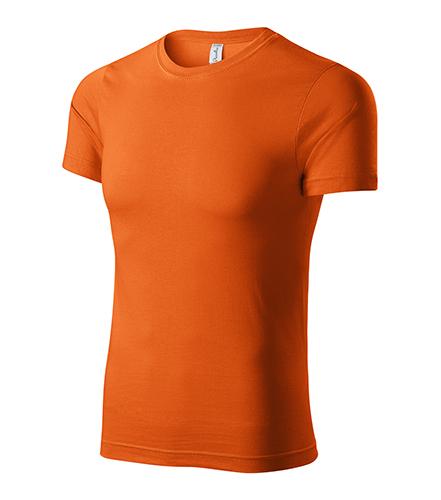 Paint tričko unisex oranžová