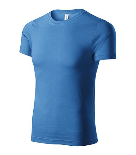 Paint tričko unisex azurově modrá