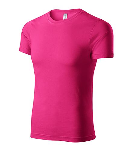 Paint tričko unisex purpurová