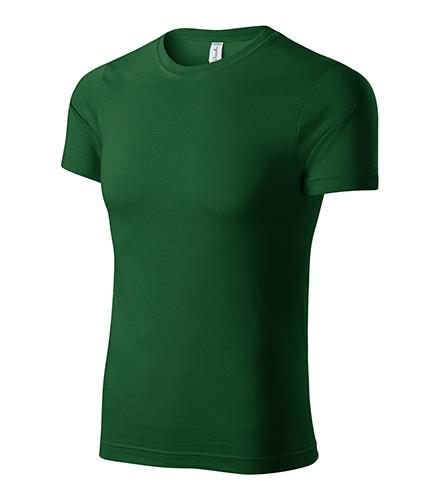 Peak tričko unisex lahvově zelená