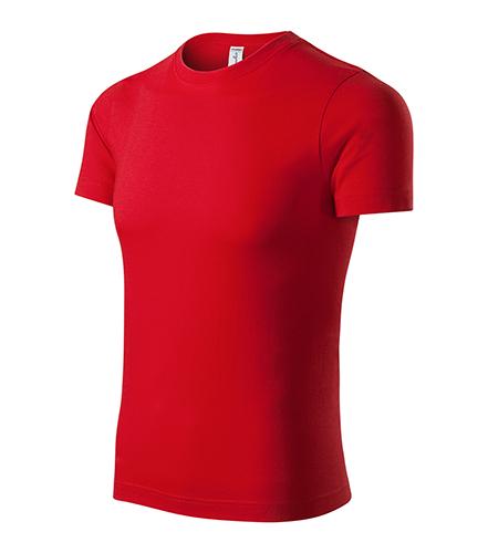Peak tričko unisex červená