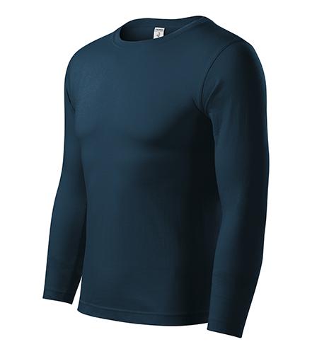 Progress LS triko unisex námořní modrá