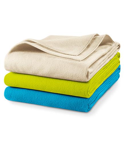 Blanky fleecová deka unisex lahvově zelená
